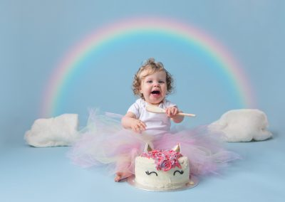 cake_smash_photographer_northamptonshire_unicorn_rainbow_Miranda_Walton_Photography